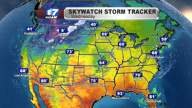 Powerful Winter Storm with Significant Hazards In The West and Plains