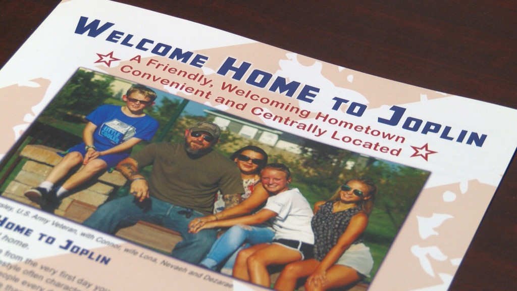 """""""Welcome Home to Joplin"""" campaign recruiting veterans, skilled workers to Joplin"""