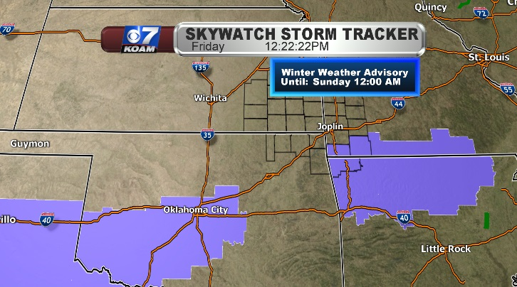 Another change for Winter Weather Watches