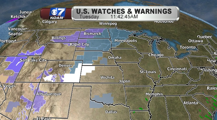Upper Midwest braces for winter storm