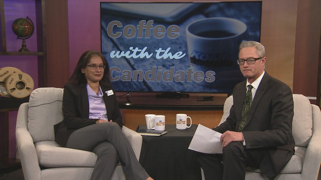 Coffee with the candidates: Usha Reddi