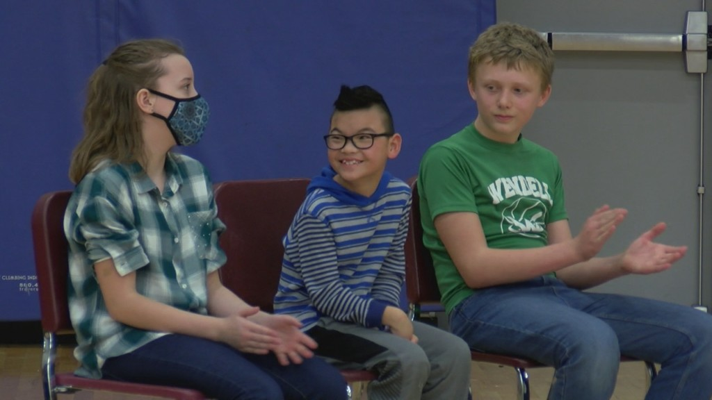 Students surprised by Make-A-Wish
