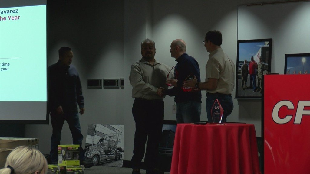 CFI driver of the year award ceremony
