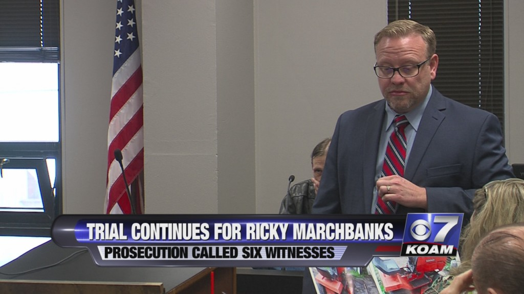 Ricky Marchbanks trial day 2