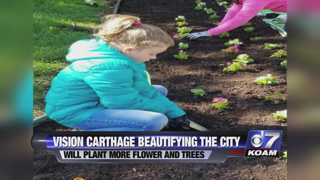 Vision carthage beautifies city