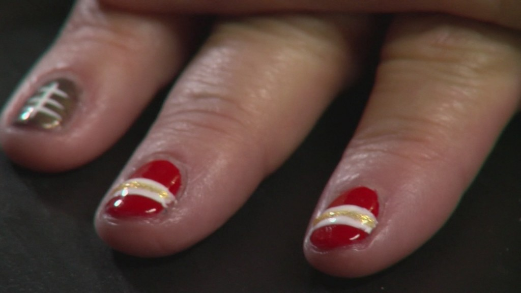 Chiefs Nails
