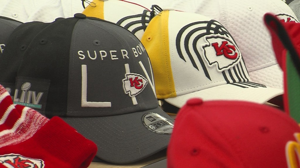 Kansas City Chiefs AFC championship hats