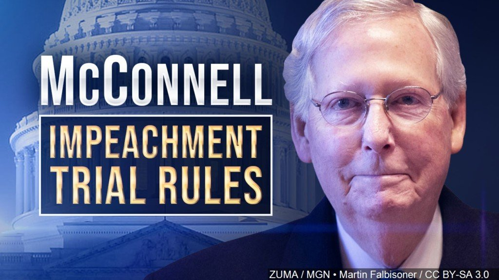 Graphic with Mitch McConnell