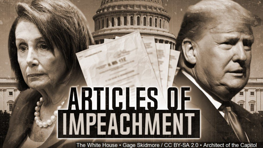 President Trump, Nancy Pelosi, articles of impeachment