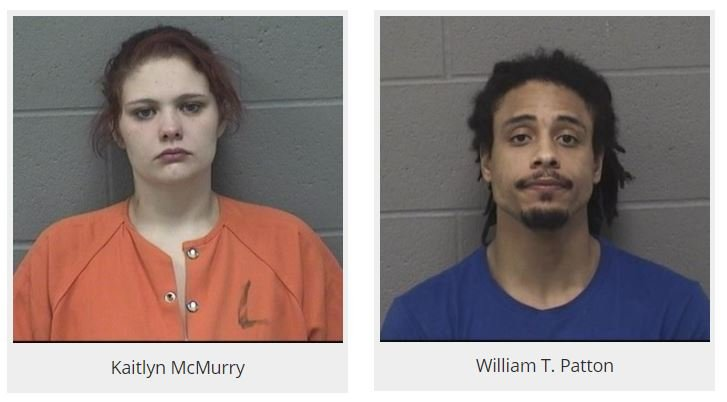 Mugshots of Kaitlyn McMurry and William T. Patton