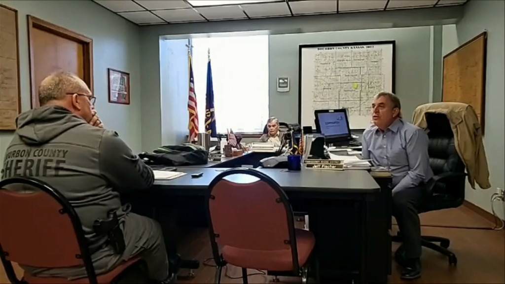 Sheriff Bill Martin talks about his recent raise with county commissioners