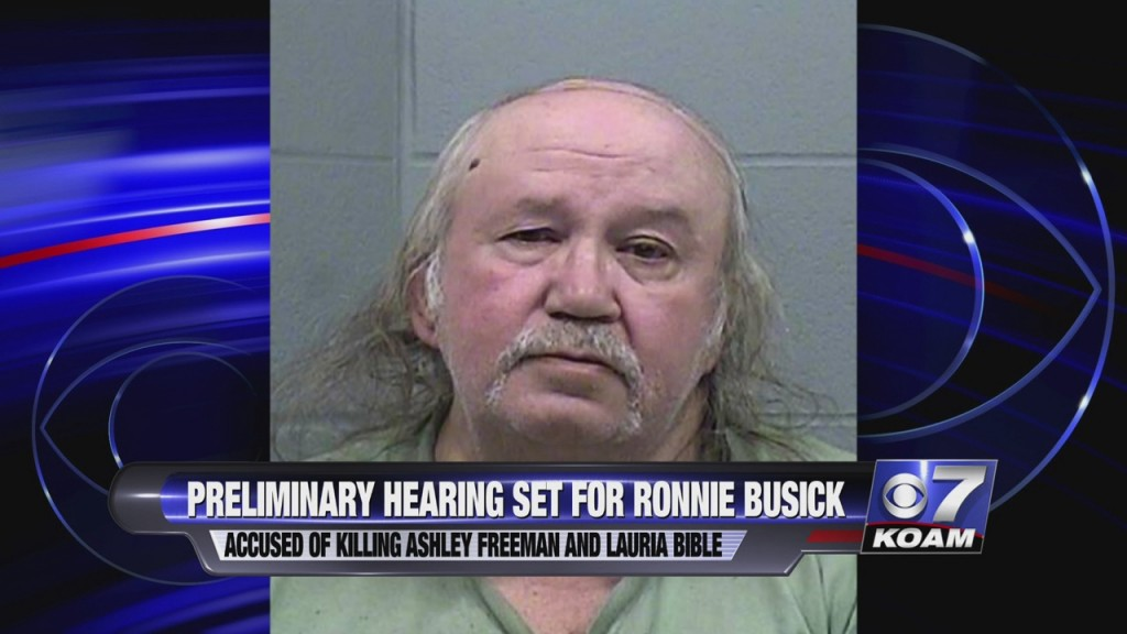 Ronnie Bussick Arrested