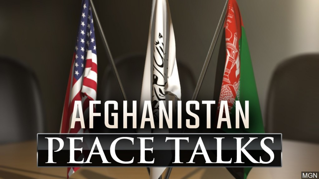 Afghanistan peace talks graphic