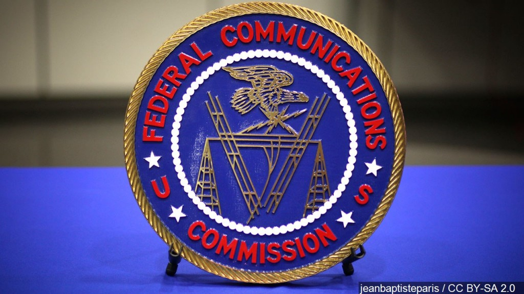 Fcc Emblem On Desk