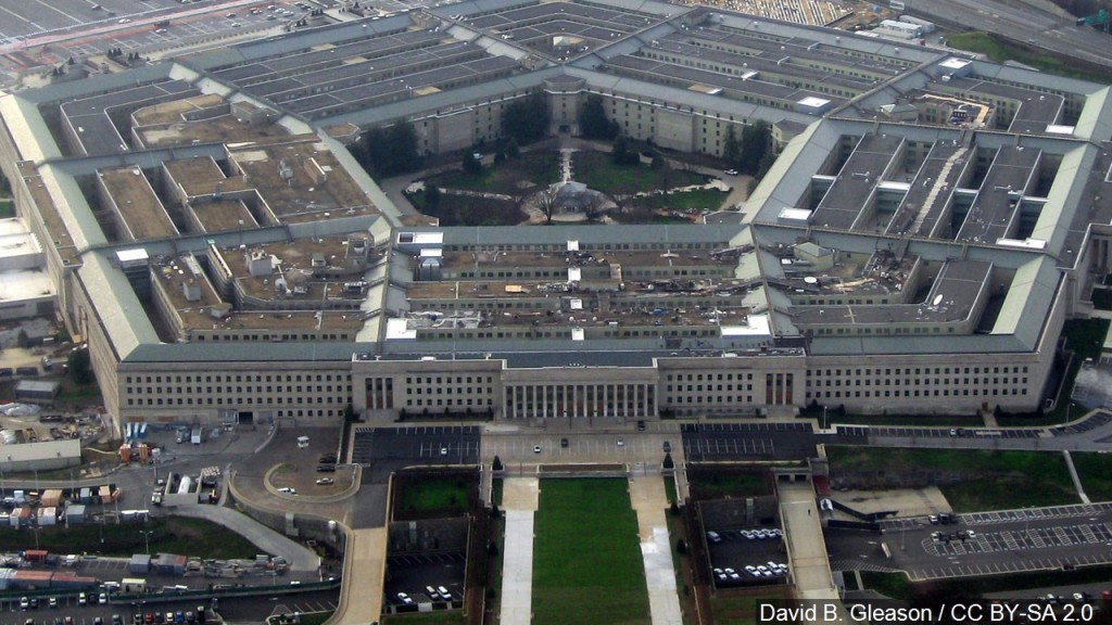 Photo of the Pentagon building