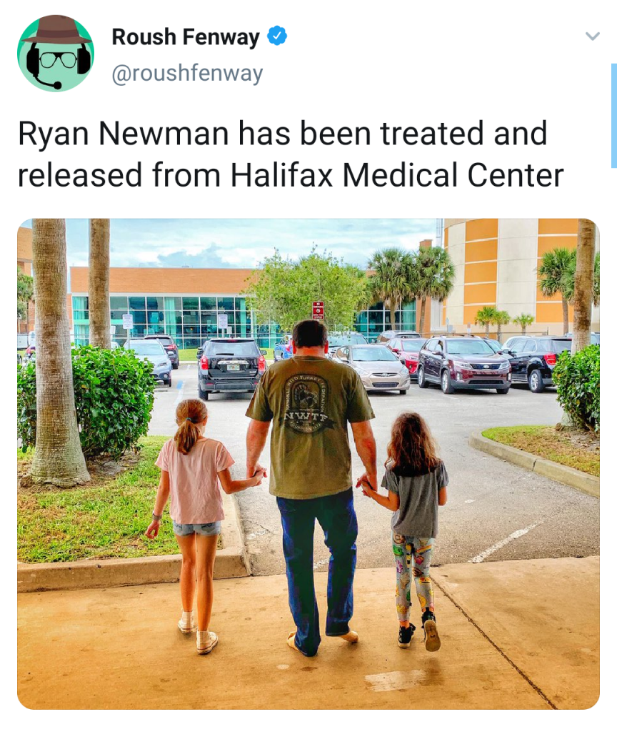 Newman released
