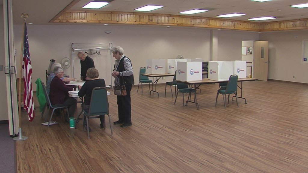 People In Ottawa County Vote In The Primary Election On This Super Tuesday
