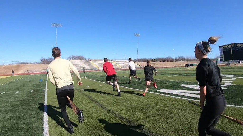 "Mssu Students Play ""grounded"" Game Of Quidditch"