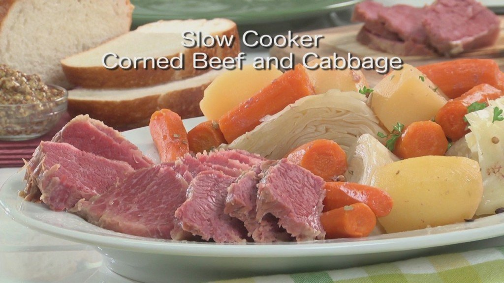 Mr. Food: Slow Cooker Corned Beef And Cabbage