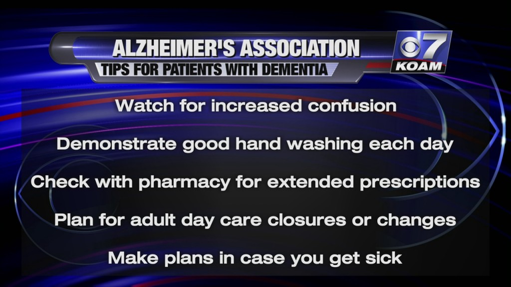 Alzheimers Association Provides Tips For Caregivers On How To Best Help People With Dementia During The Pandemic