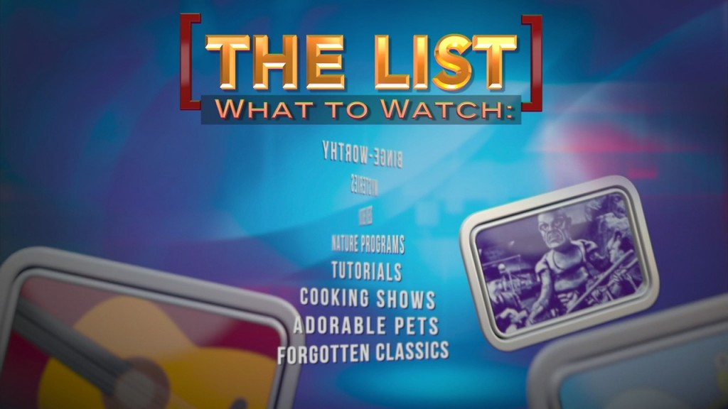 The List: What To Watch 3 26
