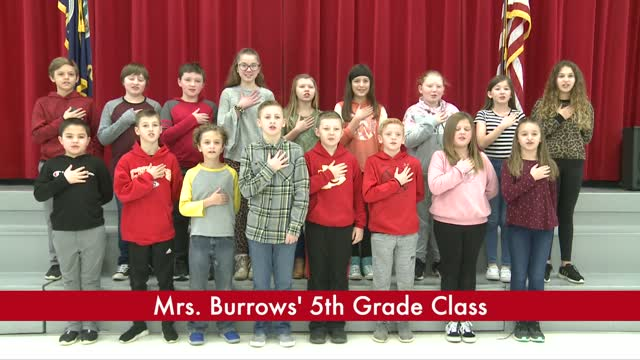 Mrs. Burrow's 5th Grade