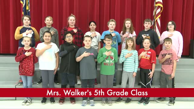 Mrs. Walker's 5th Grade (3/4)