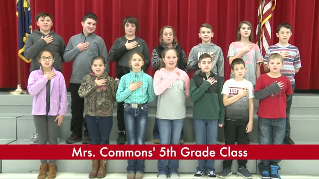 Mrs. Commons' 5th Grade