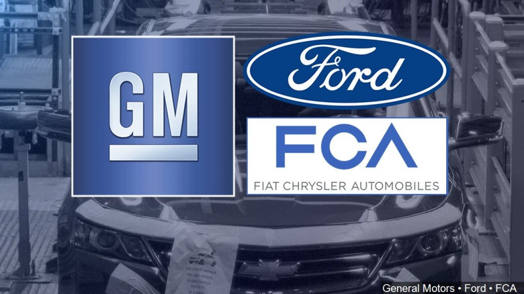 Gm, Ford, Fiat Chrysler Logos