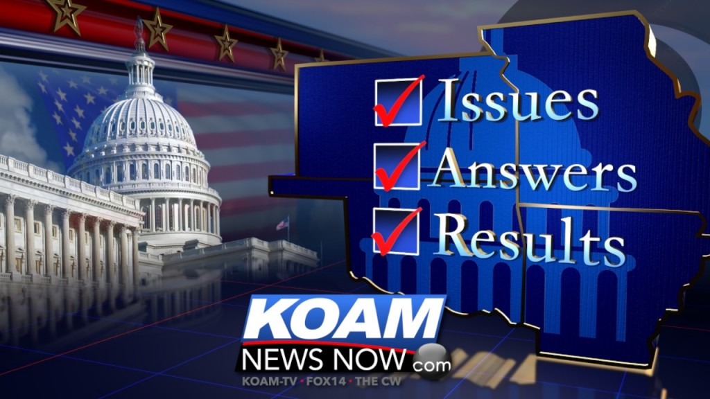 Election issues, answers, results graphic