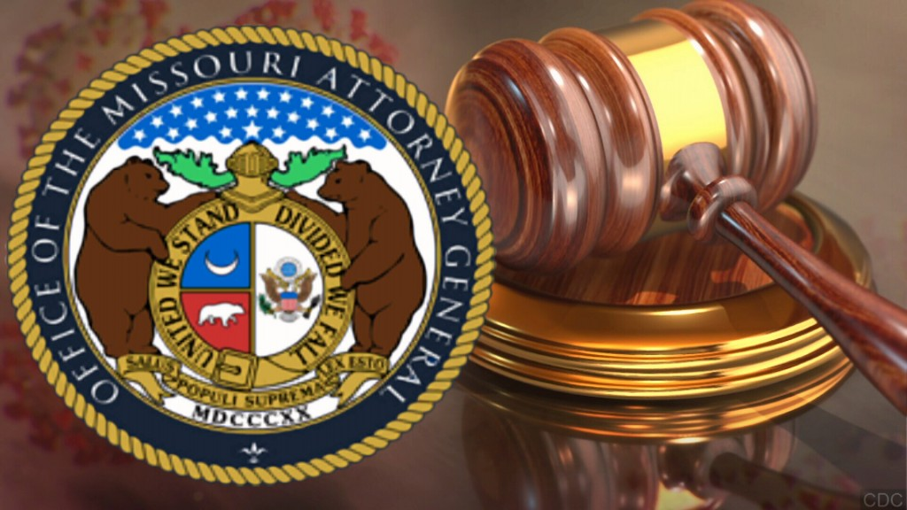 Missouri Attorney General Logo, Gavel