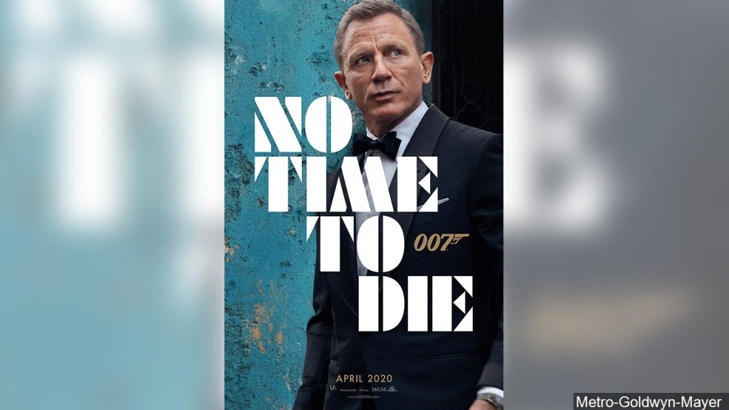 Movie Poster No Time To Die 007