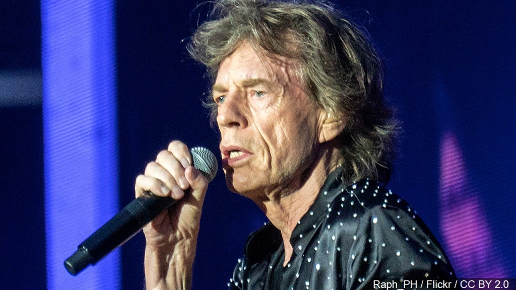 Photo Mick Jagger During The Rolling Stones Concert In London, Photo Date 5 22 2018