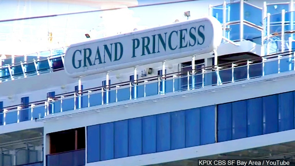 Photo The Cruise Ship Grand Princess Remained Off The California Coast Due To Of Coronavirus Concerns, Photo Date March 5, 2020
