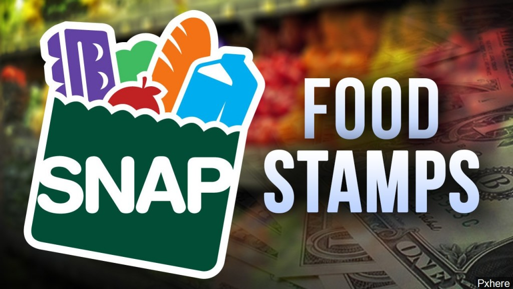 Snap, Food Stamps Graphic