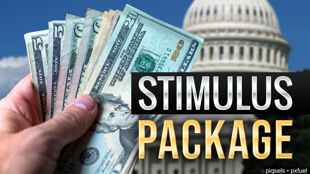 U.s. Capitol, Stimulus Package Graphic
