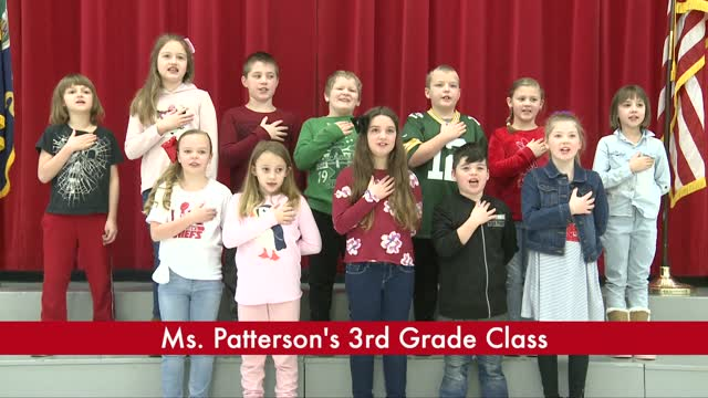 Ms. Patterson's 3rd Grade
