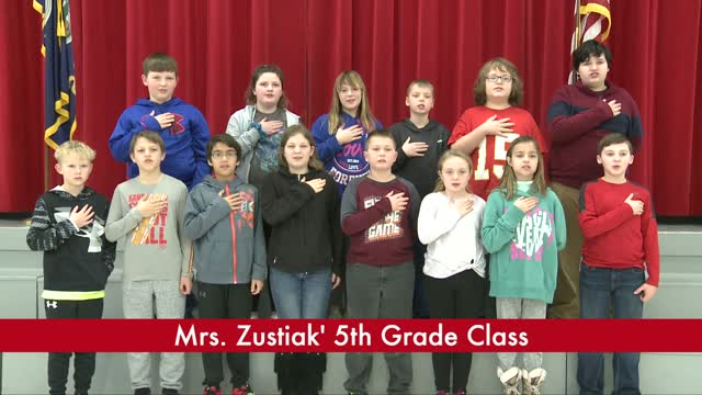 Mrs. Zustiak's 5th Grade
