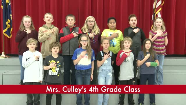 Mrs. Culley's 4th Grade