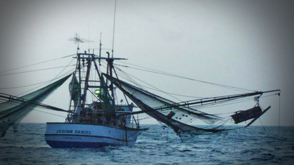 Fishing Boat On The Ocean Mgn Image