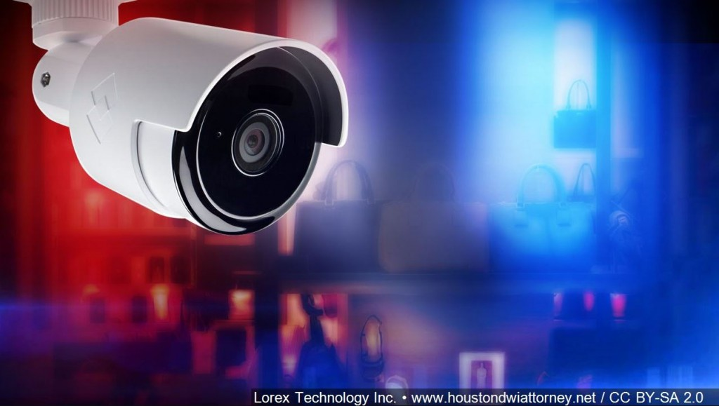 Image Of Surveillance Camera