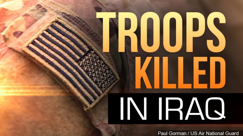 Soldier Patch, Troops Killed In Iraq Graphic