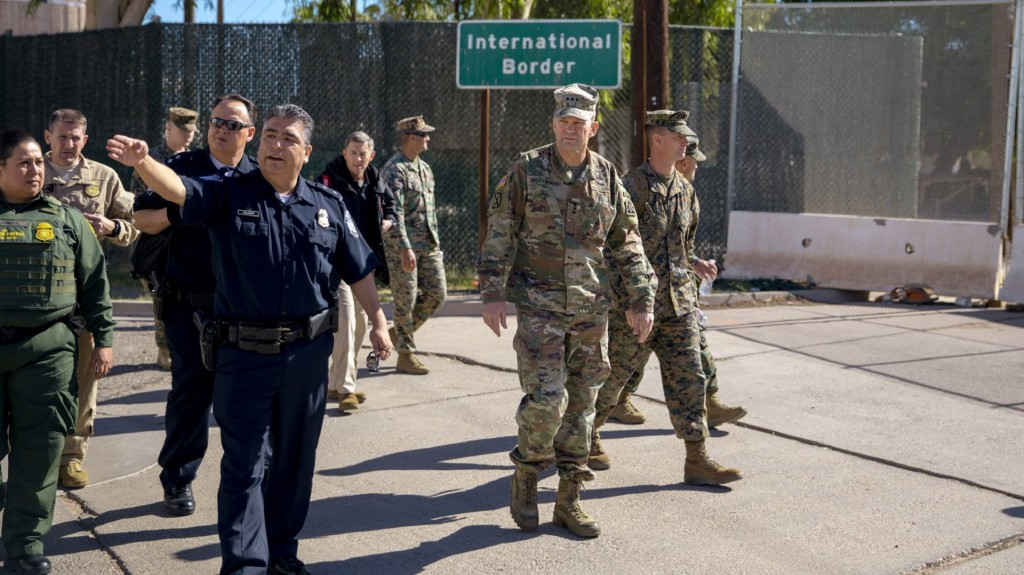 Pentagon considering new DHS request for assistance at border