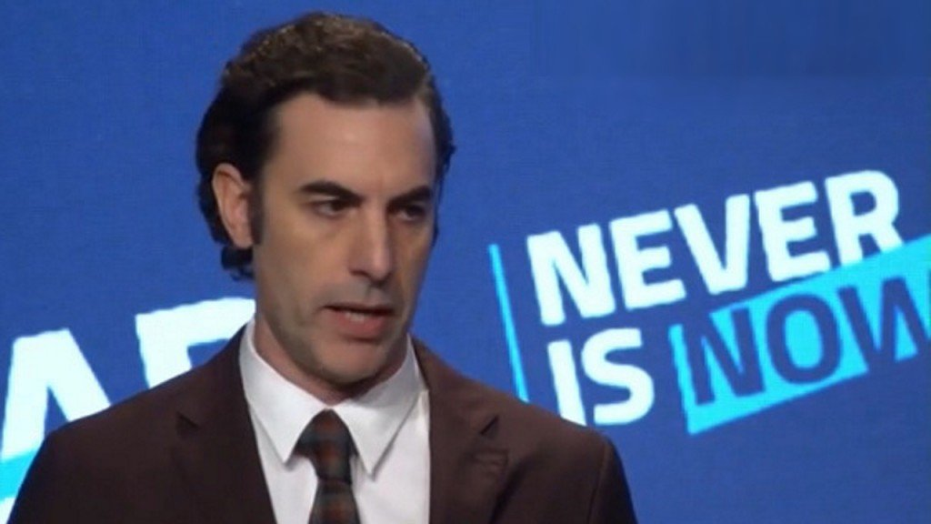 Sacha Cohen: Social media 'greatest propaganda machine in history'