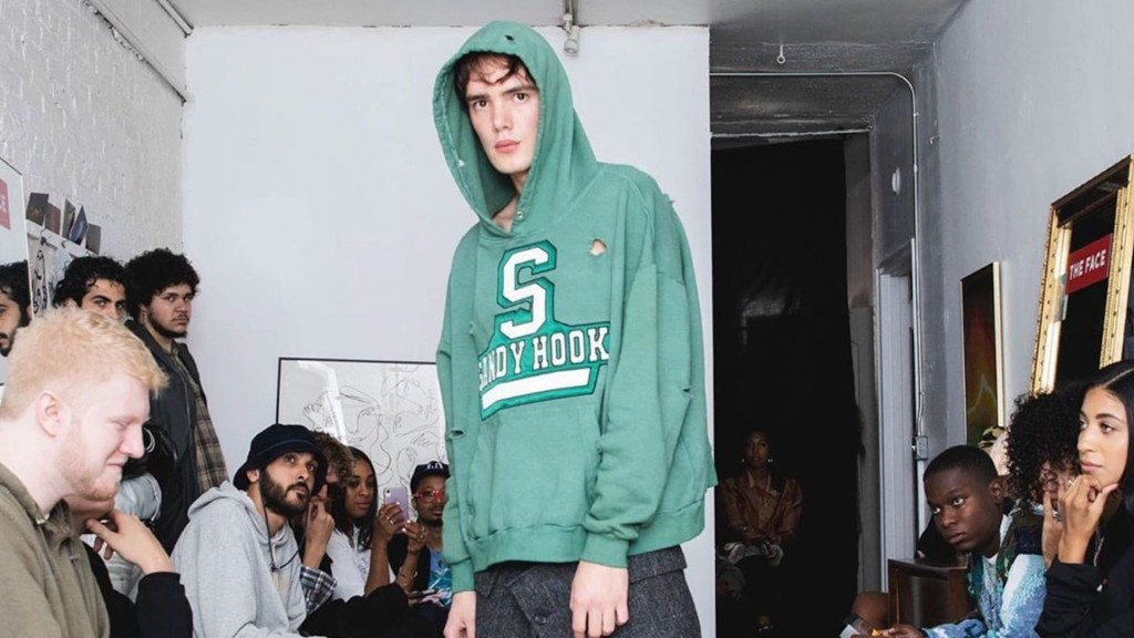 Fashion brand sparks outrage over school shooting-themed hoodies