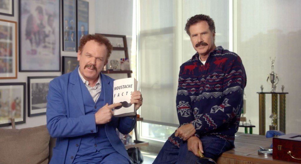 Will Ferrell, John C. Reilly have an important message about facial hair