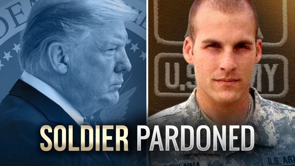 Pardoned ex-soldier initially didn't take White House call