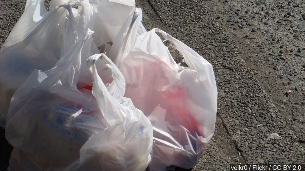 Oklahoma governor signs bill against plastic bag fees, bans