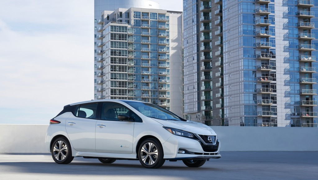 New Nissan Leaf goes farther, faster