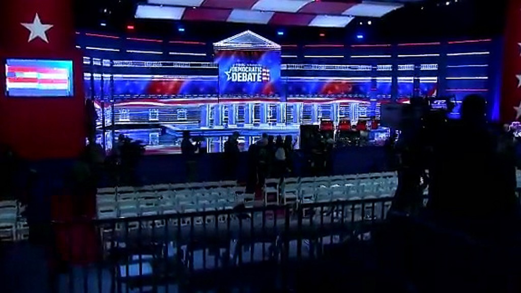 Tyler Perry Studios transformed into debate stage